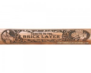 American Bricklayer Tribute Rifle