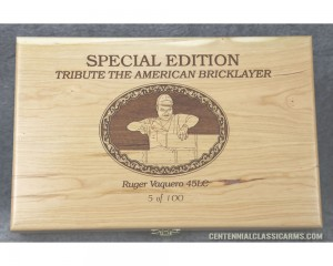 Sold Out - Tribute to the American Bricklayer - Pistol