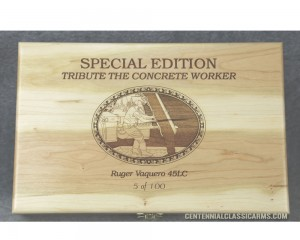 Tribute to  the American Concrete Worker - Pistol